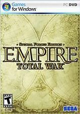 Empire: Total War -- Special Forces Edition - PC/Windows (Sega) ** BRAND NEW **