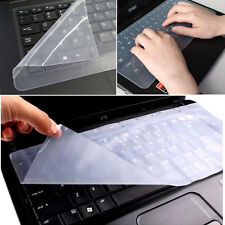 Universal Laptop Pc Notebook Silicone Clear Keyboard Protector Skin Cover Lot