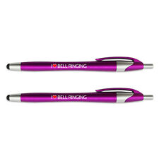 Pink Stylus Pen for Touch Screen Devices 2 Pack I Love Sports Hobbies A-B