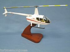 Robinson R-66 Raven Helicopter Desk Top Display Chopper Copter 1/24 Model