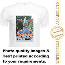 Kids Customised Personalised Printed Tshirt Photo Event Birthday School Party
