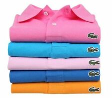 2015 New Arrival Multiple Color 100% Cotton Short Sleeve Polo Shirt T-Shirt