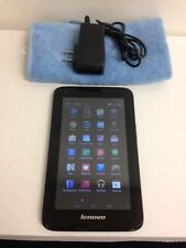 "LENOVO IDEA TAB A1000L-F 7"" 4GB ANDROID 4.1 BLACK FACTORY RESET  WARRANTY+ BONUS"