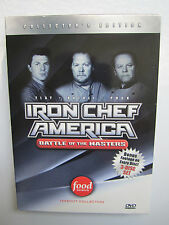 Iron Chef America - Battle of the Masters - Takeout Collection - 3 DVD Set RARE