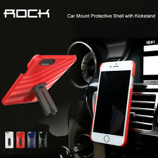360 Rotating Car air vent Mount Holder Stand for Apple iPhone 6 4.7 Case +Screen