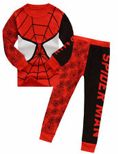 Kids Boys Spiderman Clothing Pajamas 2Pc Outfits Suits Sleepwear Sets Size 2-8 Y