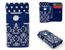 Luxury PU Leather Card slots Wallet Purse Case Cover for Various phone #1T171