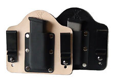 FoxX Holsters Leather & Kydex IWB Magazine Carrier Holster Kimber 1911 .45 ACP