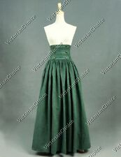 Victorian Edwardian Long Skirt Steampunk Theater Reenactment Clothing K187