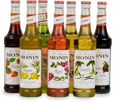 25CL Monin Coffee Syrups, Small Bottles, Perfect for trying 250ml, Costa Coffee