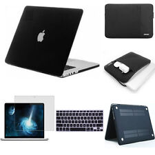 Rubberized Case Keyboard cover screen protector sleeve bag for Macbook Pro Air