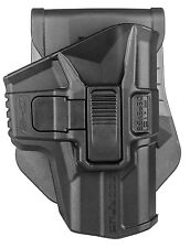 G-9R -S Retention Holster Glock 9MM 17 18 19 22 23 25 31 32 34 35 37 38 by FAB