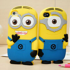 3D Phone Case Cover Minions For iPhone 4 5 5s 6 6 plus samsung S3 S4 S5 note3 P4