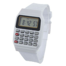 Unisex Calculator Watches Silicone Multi-Purpose Time Electronic Wrist Watch HOT