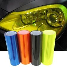 30cmX40cm Reflective Car Light Sticker Headlight Taillight Tint Film 12 Colors