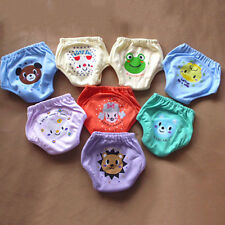 4 Layers Baby Reusable Toddler Knickers Animal Potty Training Pocket Diaper