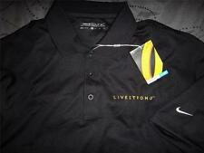 NIKE LIVESTRONG GOLF TOUR PERFORMANCE DRI-FIT POLO SHIRT SIZE M L MEN NWT $$$$