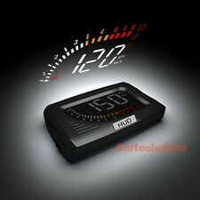 New OBD2 Heads Up Display HUD MPH Kmh Rpm Speed Battery Voltage Water Temp