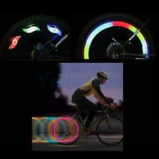Fashion Silicone Bike Bicycle Tire LED Safety Light Waterproof Blue Red Green