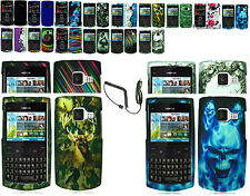 Car Charger+Snap-on Hard Case Cover For Nokia X2-01 Phone