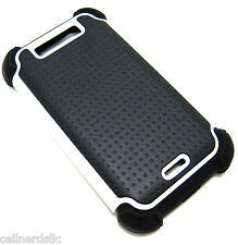 LG Connect 4G MS840 / Viper 4G LS840 Hybrid Rugged Dual Case Cover *USA SELLER*