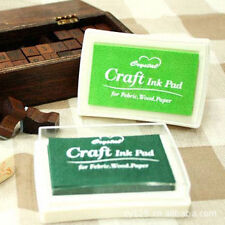 Nice Oil Based DIY Craft Ink Pad Rubber Stamps for Fabric Wood Paper Wedding CN
