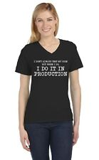 I Don't Always Test My Code - Funny Coder Programmer V-Neck Women T-Shirt Geek