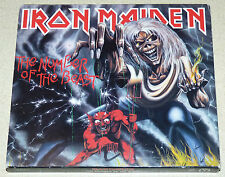 IRON MAIDEN The Number of the Beast (1998 CD) Slipcase RUN TO THE HILLS Videos