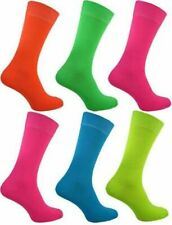 Ladies Neon socks Teddy Girl Boy Rock and Roll Rockabilly size uk 4 to 8.