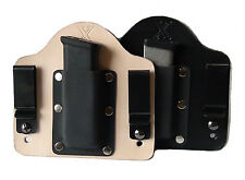 FoxX Leather & Kydex IWB Magazine Carrier Holster Smith & Wesson SD9VE & SD40VE