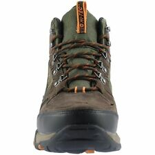 HI TECH FALCON WATERPROOF WIDE FIT BOOTS IN DARK TAUPE SIZE UK7 TO UK16