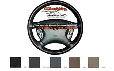 Cadillac Leather Steering Wheel Cover - 7 Colors Genuine Cowhide Wheelskins