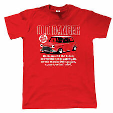 Old Banger Mens Funny Classic Mini T Shirt - Gift for Dad Fathers Day