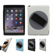 NEW 360 Rotating Handheld Stand Case Cover with Hand Strap for iPad Air 2