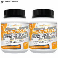 Herbal Energy 60-180Tablets Pre-Workout Booster Energy Guarana Ginseng Root