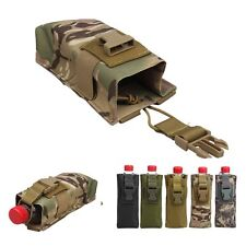 Airsoft Tactical Military Police Hunting Walkie Talkie Molle Radio Pouch Bag NEW