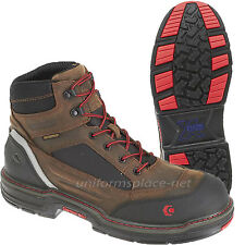 "Wolverine Work Boots Mens Overman Waterproof CarbonMax Safety Toe 6"" Boot W10483"