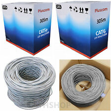305M METER RJ45 Network Cat5e Cat6e Ethernet ADSL Modem LAN Roll Bulk Cable
