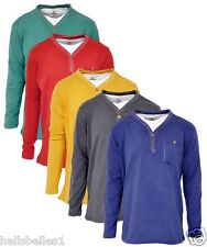 BOY'S ASSORTED COLOURS INSERT STYLE LONG SLEEVE TOPS 3-14 YEARS