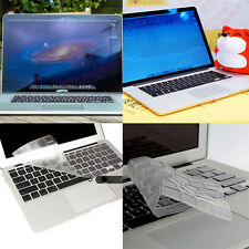 US SET Thin Clear KeyBoard Cover Skin For MacBook Air Pro/Retina11/12/13/15""