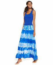 INC International Concepts  Dress Skirt Convertible Tie-Dye Maxi Skirt PM PL PXL