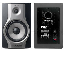 NEW MAudio BX8 Carbon Active 2 Way Reference Studio Monitor Single Speaker