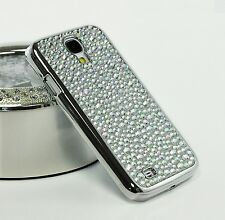 Diamond Stone Rhinestone Crystal Chrome Bling Case For Samsung galaxy S4 i9500
