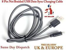 Net Braided Super Strong USB Data Sync Charger Cable For iPhone 5 5s 6 6 Plus