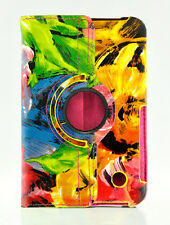 Samsung Galaxy Tab 2 7.0 P3100 Painting Art Flower 360 Degree Leather Case