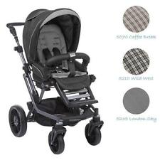 Teutonia Mistral S V3 graphite wheel 7 stroller pushchair 2015 color choice
