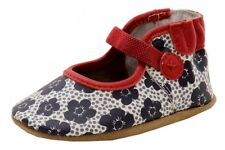 Robeez Mini Shoez Infant Girl's Blooming Bella Fashion Red Mary Janes Shoes