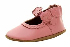 Robeez Mini Shoez Infant Girl's Claire Fashion Pink Leather Mary Janes Shoes