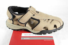 Marco Tozzi Sandal beige, Hook and loop fastener, soft Leather insole NEW