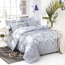 Rosemary Single Double Queen King Size Bed Set Pillowcases Quilt Duvet Cover